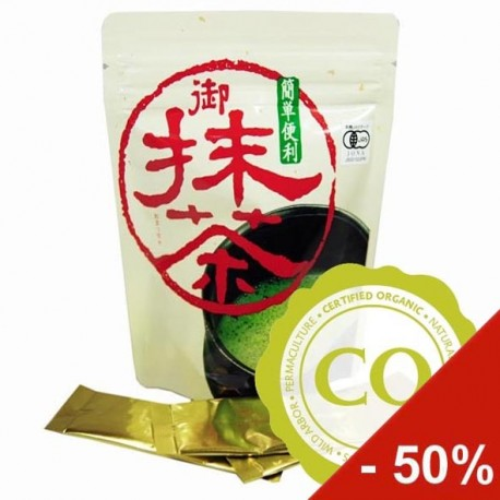 JAP. MINI-MATCHA  10x2g  BIO  sleva saisonní 30%